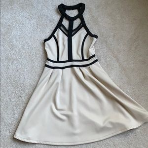 Tobi tan formal dress